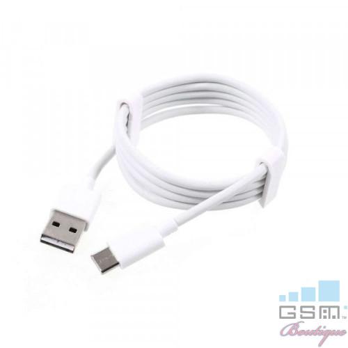 Cablu Date Si Incarcare USB Type C 1m Cu Blister Alb