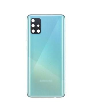 Capac Baterie Samsung Galaxy A51, SM A515F Albastru Cu Geam Camera