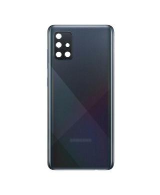 Capac Baterie Samsung Galaxy A51, SM A515F Negru Cu Geam Camera