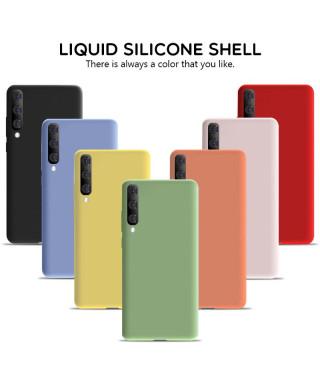Husa Silicone Case Samsung Galaxy A72 5G, A726 Albastra