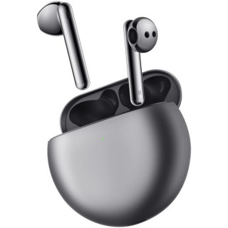 Casti wireless Huawei FreeBuds 4, Silver Frost