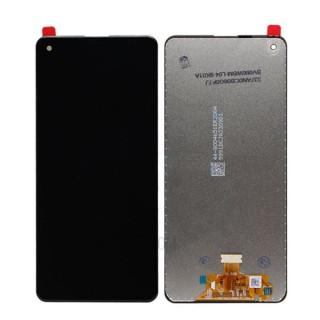 Display Cu Touchscreen Samsung Galaxy A21S Compatibil Negru