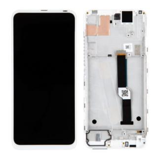 Display Motorola Moto One Fusion Plus Cu Rama Original Alb