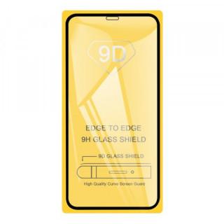 Folie de protectie Tempered Glass cu acoperire completa pentru iPhone XR / 11 Neagra