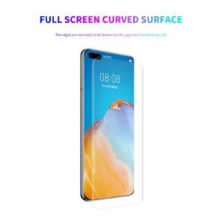 Folie Protectie ENKAY Huawei P40 Pro Cu Acoperire Completa Transparenta