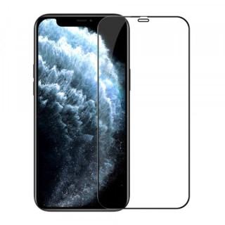 Folie Protectie Sticla Flippy iPhone 12 Pro Max Acoperire Completa Neagra