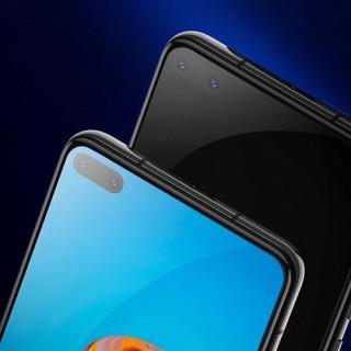 Folie Protectie Sticla Huawei P40 Acomperire Completa Neagra