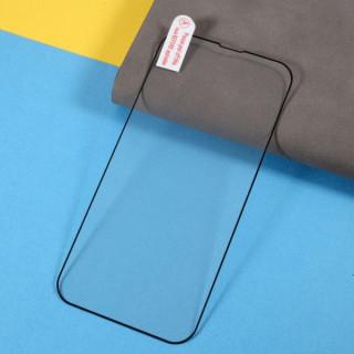 Folie Protectie Sticla iPhone 13 / 13 Pro Acoperire Completa Neagra