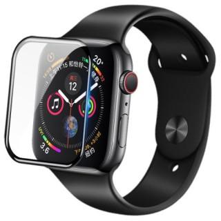 Folie Protectie Sticla NILLKIN Apple Watch Series 4 Acoperire Completa Neagra