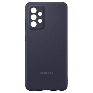 Husa de protectie Samsung A52 Silicone Cover pentru A52, Black