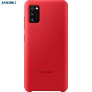 Husa de protectie Samsung Silicone pentru Galaxy A41 (2020), Red