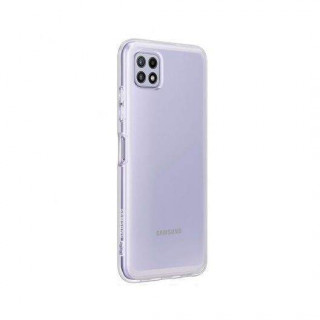 Husa de protectie Samsung Soft Clear Cover pentru A22, Transparent