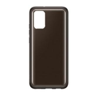 Husa de protectie Samsung Soft Clear Cover pentru Galaxy A03s, Black