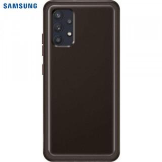 Husa de protectie Samsung Soft Clear Cover pentru Galaxy A32, Black