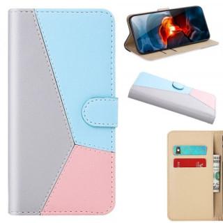 Husa Telefon Huawei P40 Lite Flip Cu Stand Colorata