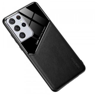Husa Telefon Samsung Galaxy S21 Ultra 5G Dura Compatibila Cu Suport Magnetic Neagra