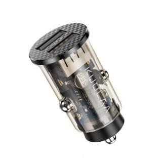 Incarcator Auto 5V 3.4A Dual USB Negru