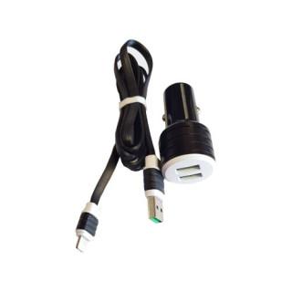 Incarcator Auto Cu Cablu Lightning iPhone 5 5s SE 6 6s 7 8 X XS 11 (Black)