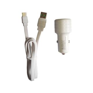 Incarcator Auto Cu Cablu Tip C (White)
