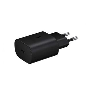 Incarcator retea SAMSUNG EP-TA800NBEGEU, 1xType C, 25W, Power Delivery (PD), negru